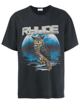 Owl Graphic T Shirt by Rhude