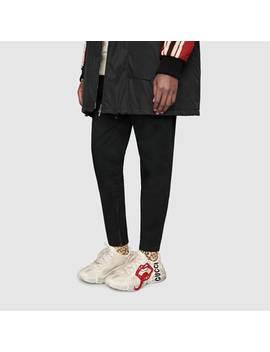 Rhyton&Nbsp;Sneaker Mit Mund Print by Gucci