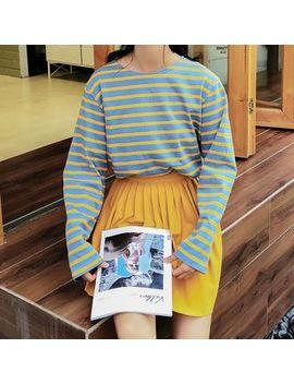 Miahynn   Long Sleeve Striped T Shirt by Miahynn