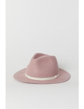Filtet Hat by H&M