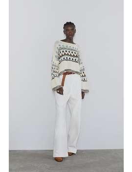 Pullover Jaquard Visualizza Tutto Maglieria Donna by Zara