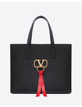 Large Vring Shopping Tote by Valentino