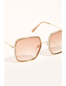 Don't Be A Square Sunglasses by Free People