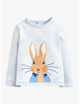 Baby Joule Dash Peter Rabbit Stripe Sweater, Blue by Joules