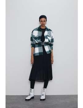 Geruit Overshirt Editorial Ways To Wear Dames by Zara