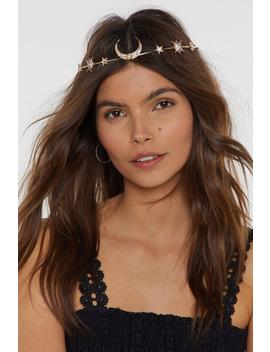 Queen Of The Universe Star And Moon Headband by Nasty Gal