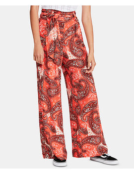Printed Double Trouble Wide Leg Pants by General