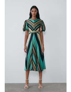 Striped Multicolor Dress  New Intrf by Zara