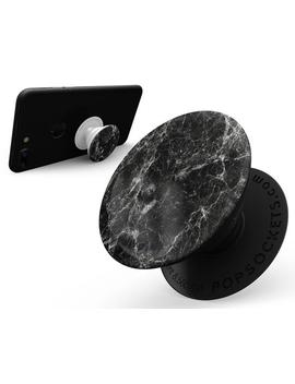 Black Scratched Marble   Skin Decal Sticker Kit For The Pop Sockets Smartphone &Amp; Tablet Grip Stand by Etsy
