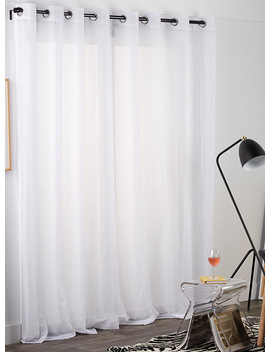 Le Voilage Blanc Diaphane 3 Formats Disponibles by Simons Maison