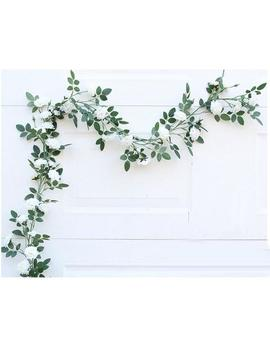 Artificial Wedding Arch Flowers White Rose Garland 180cm Leaf Garland Fake Flower Vine Realistic Flower Garland For Home Decoration Mgt 021 by Etsy