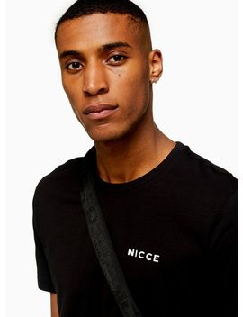 Nicce Black Logo T Shirt by Topman