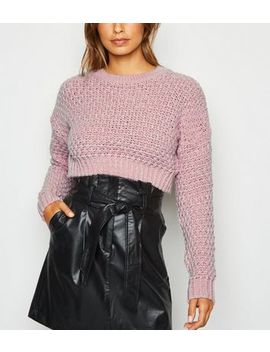 Carpe Diem Mid Pink Oversized Jumper by New Look