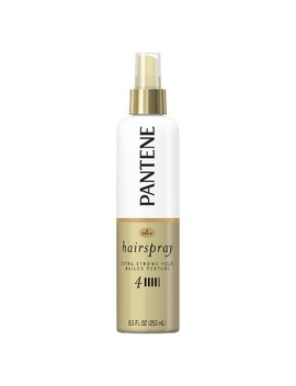 Pantene Pro V Level 4 Extra Strong Hold Texture Building Non Aerosol Hairspray   8.5 Fl Oz by V Level 4 Extra Strong Hold Texture