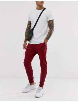 Nike Tech Fleece Joggers In Burgundy by Nike