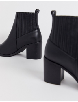Asos Design Wide Fit Reform Chelsea Ankle Boots In Black by Asos Design