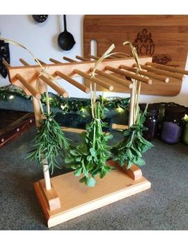 Pasta And Herb Drying Rack by Etsy