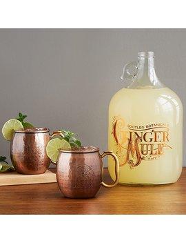 ginger-beer-making-kit-with-copper-mule-mugs by ryan-&-melanie-belshee