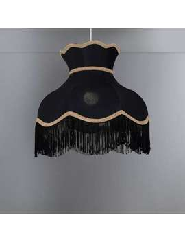 Carmona Black 33cm Shade by Dunelm
