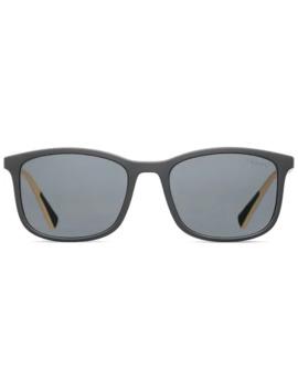 Linea Rossa Square Frame Sunglasses by Prada Eyewear