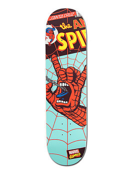 "Marvel X Santa Cruz Spiderman Hand 8.0""  Skateboard Deck by Santa Cruz Skate"