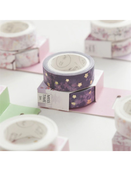 1 Pc Japan Style Romantic Washi Tape Wave Crane Sakura Masking Tape Scrapbooking Decorative Sticker School Support by Ali Express.Com