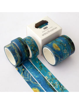 3 Pcs/Lot Painting Washi Tape Set Cute Adhesive Tape Diy Decoration Sticker Scrapbooking Diary Masking Tape Stationery Supply by Ali Express.Com