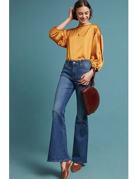 Ella Moss The High Rise Flare Jeans by Ella Moss