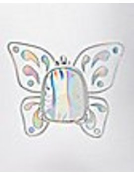 Iridescent Butterfly Mini Backpack by Spencers