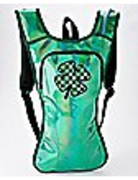 Iridescent Shamrock St. Patrick's Day Hydration Bag by Spencers
