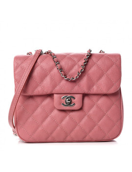 Chanel Caviar Quilted Medium Urban Companion Flap Pink by Chanel