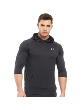 Under Armour Mens Ua Tech 2.0 3/4 Sleeve Hoodie Black by Under Armour