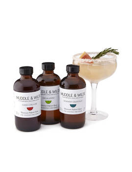 Botanical Infused Simple Syrups by Uncommon Goods