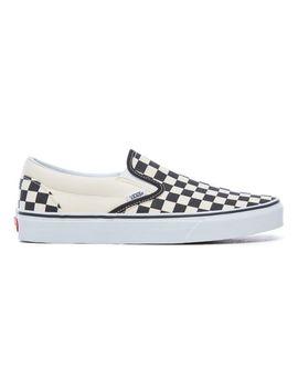 Checkerboard Classic Slip On Schoenen by Vans