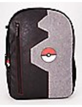 Gray And Black Pokeball Backpack   Pokémon by Spencers