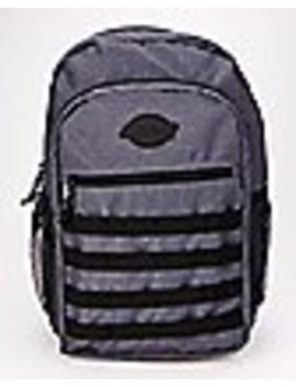 Charcoal Ripstop Backpack   Dickies by Spencers