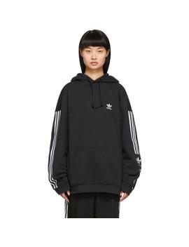 Pull à Capuche Et Logo Lock Up by Adidas Originals