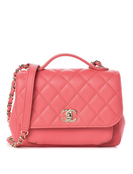 Chanel Caviar Quilted Medium Business Affinity Flap Pink by Chanel