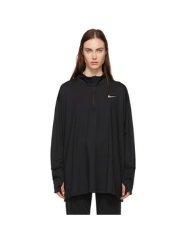 Pull Molletonné Noir Dry Fit by Nike