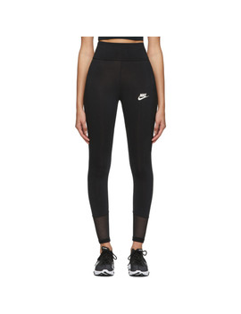 Legging En Filet Noir Tight Fit by Nike