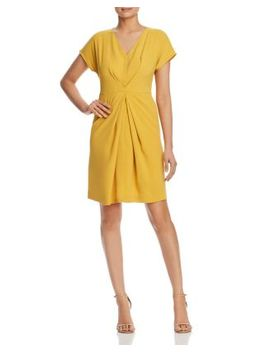 Origami Pleat Dress by Kenneth Cole