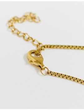 Image Gang Gold Filled Aquarius Star Sign Pendant Necklace by Image Gang