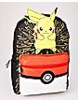 3 D Pikachu Backpack   Pokemon by Spencers