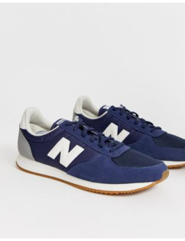 New Balance 220 Trainers In Navy by New Balance