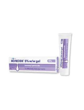 Acnecide 5% Gel Benzoyl Peroxide 30g by Superdrug