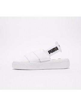 Womens Platform Sandal | White / White by Puma
