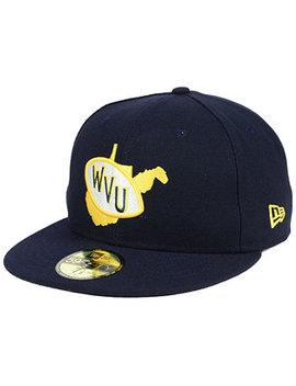 West Virginia Mountaineers Vault 59 Fifty Fitted Cap by General