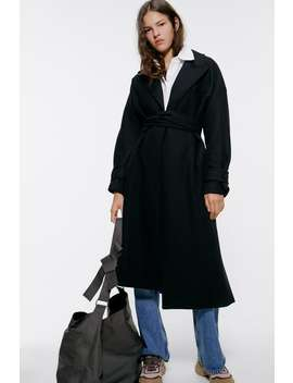 Belted Coat New Inwoman by Zara