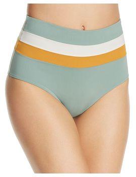 Portia Stripe Bikini Bottom by L*Space