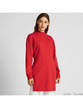Women Soft Touch Long Sleeve Tunic (Hana Tajima) by Uniqlo